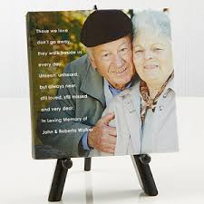 personalized remembrance gifts personalized memorial canvas prints photo sentiments 5 1 2 x 5