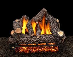fake logs for gas fireplace