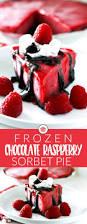 chocolate raspberry dessert frozen chocolate raspberry pie u2022 food folks and fun
