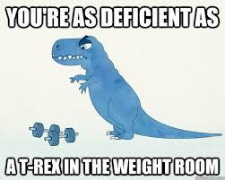 Funny T Rex Meme - t rex gym memes quickmeme