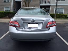toyota camry trunk toyota camry questions toyota camry rear ended damage to trunk
