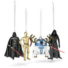 hallmark wars special edition resin ornaments thinkgeek