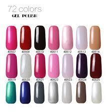 72 solid colors nail polish nail uv gel nail arts for nail salon