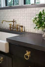 Marble Tile Backsplash Kitchen by Cabinets U0026 Storages Black Cabinets Full Wall Marble Tile