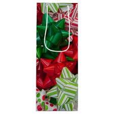 bags of christmas bows christmas bows wine gift bag holidays diy custom design cyo
