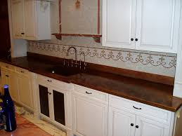 kitchen charming copper kitchen countertops faux copper