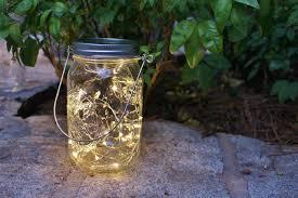 mason jar firefly lantern with handle battery operated white led
