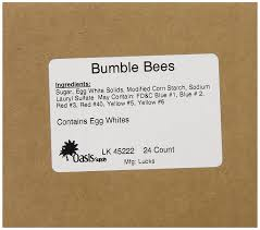 bumble bee home decor lucks sugar decorations bumble bee 24 count amazon com grocery