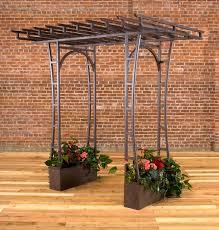 Obelisk Trellis Metal Outdoor Plant Stands Raised Bed Gardens Obelisks And Trellises