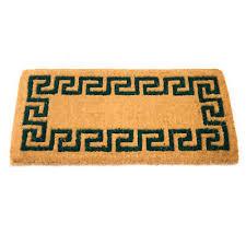zerbino di cocco zerbino tappeto tappetino l80x40cm fibra di cocco decorazione