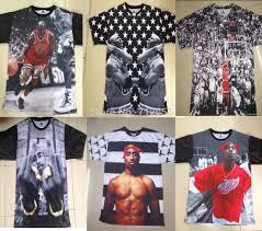 Jordan Clothes For Men 2014 New Hip Hop Star Men Clothes Hba 1991 Inc 3d Biggie Tupac