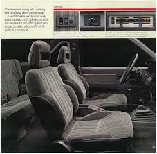 nissan pathfinder bucket seats 1989 nissan pathfinder dealer brochure nicoclub