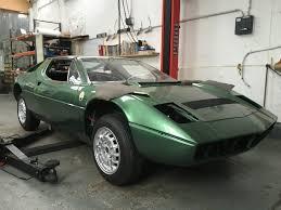 classic maserati 1976 maserati merak on it u0027s wheels bridge classic cars