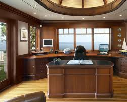 attractive basement office design ideas with home office