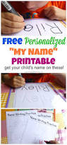 free name tracing worksheet printable font choices children