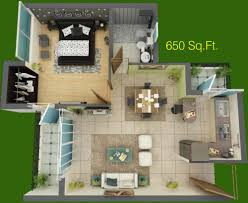 what does 500 sq feet look like 650 sq ft floor plan