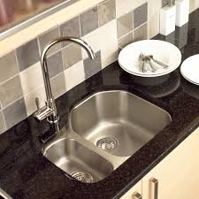 How To Install A Kohler Kitchen Faucet Kitchen Inexpensive Undermount Stainless Steel Kitchen Sink For