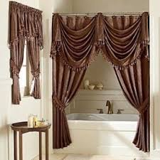 Tie Back Curtains Tie Back Shower Curtain Shower Curtain Rod