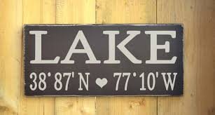 Personalized Wall Decor For Home Alluring Lake House Decor Wall Art For Lake Signs Wall Decor S On