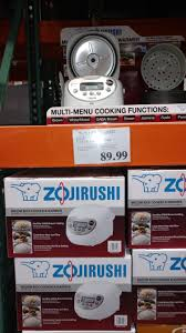 rice cooker black friday deals best buy zojirushi micom ns wsc10 5 5 cup rice cooker 89 99 at costco