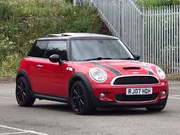 2007 mar 07 mini cooper 1 6 s hatchback 3 dr petrol manual