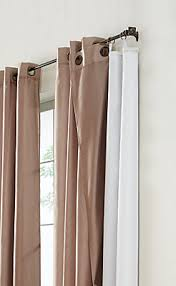 Blackout Drapery Fabric Home Decorators Collection Blackout Curtain Liner White 45x77