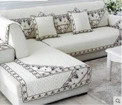 non slip cover for leather sofa aliexpress com buy non slip cotton pad cloth art sofa contracted