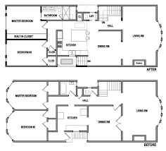 mcelroyarch to the studs page 10 within the walls partially infilling a lightwell squaring off bay windows opening up the main rooms and adding a new stair to the lower floor
