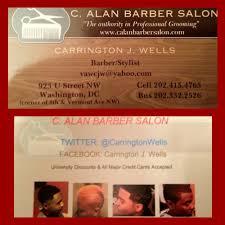 c alan barber salon barbers 923 u st nw u street corridor