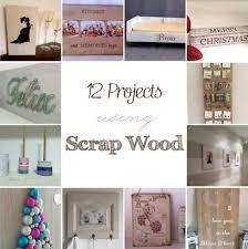 12 projects using scrap wood u2022 my sweet things