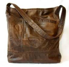 Upcycled Leather Bags - distressed leather bags paperblog