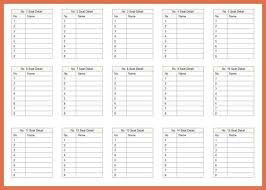wedding seat chart template wedding seating chart template bio exle