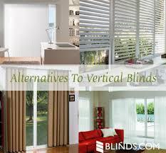 alternatives to vertical blinds for sliding glass doors