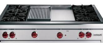 Wolf Drop In Cooktop Kitchen Gas Cooktop With Griddle Reviews Stove And Double Oven