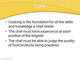 chapter 4 the professional chef chapter 4 the professional chef