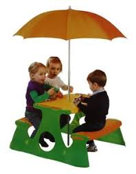 Kids Eating Table Picnic Table With Umbrella Kids Furniture Pinterest Picnic