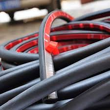 guarnizioni portiere auto autoec guarnizioni antirumore per portiere auto nere 700 cm a