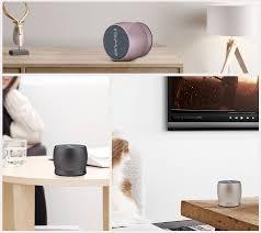 Living Room Bluetooth Speakers Awei Y500 Mini Wireless Bluetooth Speaker Rose Gold