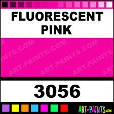 fluorescent pink colors egg tempera paints 3056 fluorescent