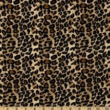 leopard fabric large cheetah tan black discount designer fabric fabric com
