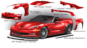 corvette zr1 kit c6 corvette zr1 style panels c6 corvettes