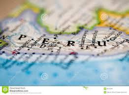 Peru On Map Map Of Peru Royalty Free Stock Photos Image 931938