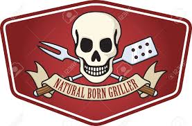 Picture Of A Pirate Flag Natural Born Griller Barbecue Logo Based On The Classic Skull