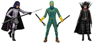 Kickass Halloween Costume Neca Kick 2 Action Figures Including Mother Fucker