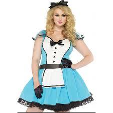 Size Halloween Costumes 4x Alice Wonderland Size Storybook Halloween Costume