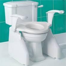 siege toilette pour handicapé réhausseur wc et cadre de toilettes tous ergo