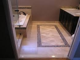bathroom floor design black and white hexagon bathroom floor tile