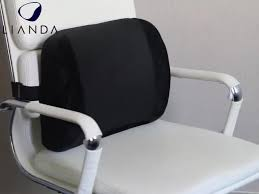 Lower Back Chair Support Ventilative Mesh Lumbar Roll Chair Back Support Alleviates Lower