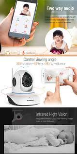 vstarcam d35 universal ir remote controller camera 720p ip pan