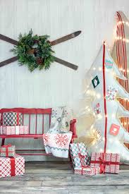 burlap ribbon and bow for decor garage doors tree decorating ideas